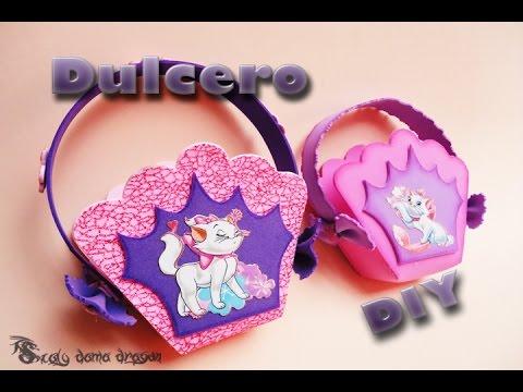 Dulcero para fiestas infantiles de goma eva foamy diy for Decoracion goma eva infantil