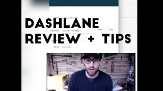 Dashlane tutorial
