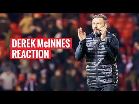 Derek McInnes | Reaction