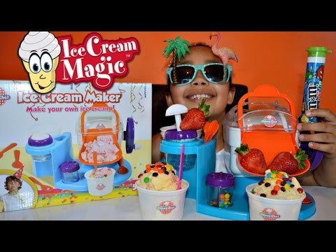 Thumbnail: DIY YOUNG CHEF ICE CREAM MAKER - MAKE YOUR OWN ICE CREAM | M&M's | STRAWBERRIES