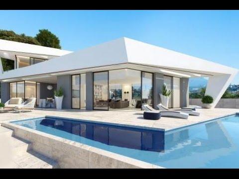 600 000 euros gagner en soleil espagne villa moderne for Grande villa luxe moderne