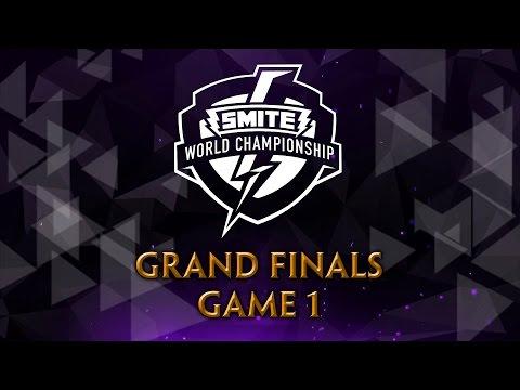 SMITE World Championship 2017 - Grand Finals (Game 1)
