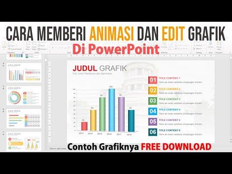 Cara Membuat Animasi dan Edit pada Grafik di PowerPoint