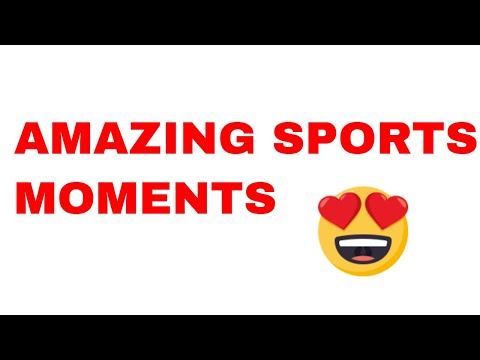Inspiring Moments In Sports | BEAUTIFUL SPORTS MOMENTS
