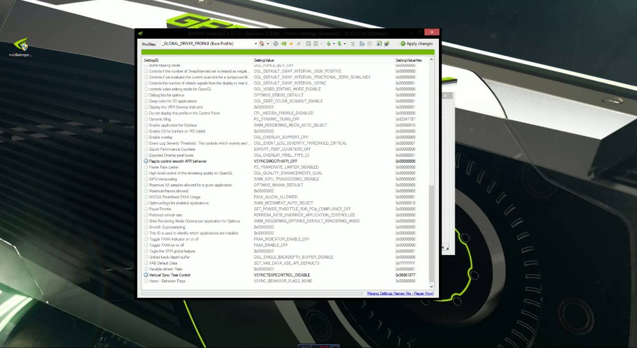 How To Better Optimize Your Nvidia Performance, With Nvidia Inspector