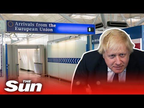 Boris Johnson's Tough New Post-Brexit Immigration System Explained