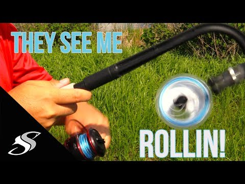 How to Properly Spool a Spinning Reel - Simplest Method