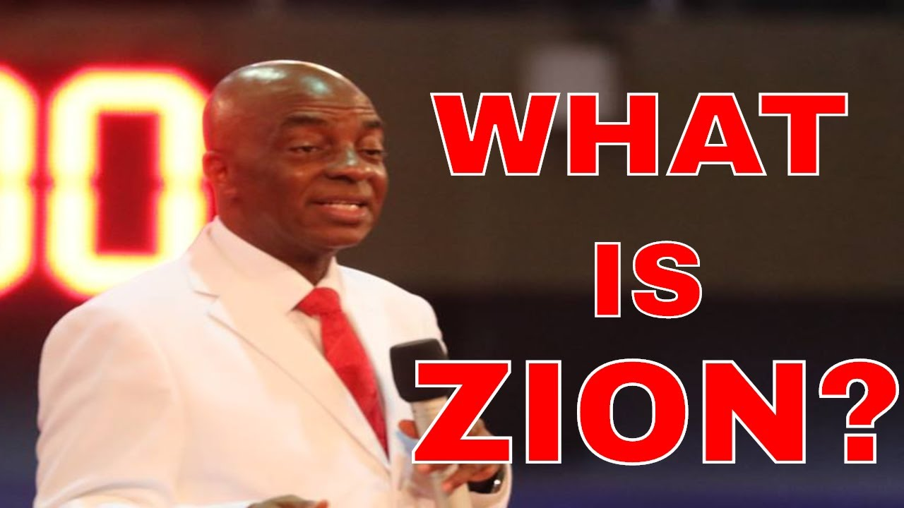 Download Bishop David Oyedepo Zion As The City Of Refuge