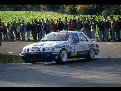 Fran 231 Ois Delecour Amp Ford Sierra Cosworth Group A 92 Youtube