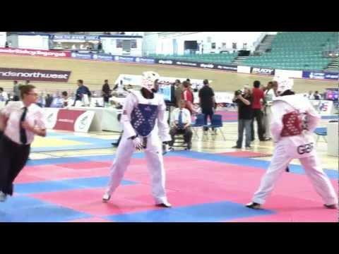 British Nationals   Mens Finals - 80kg   GB Taekwondo