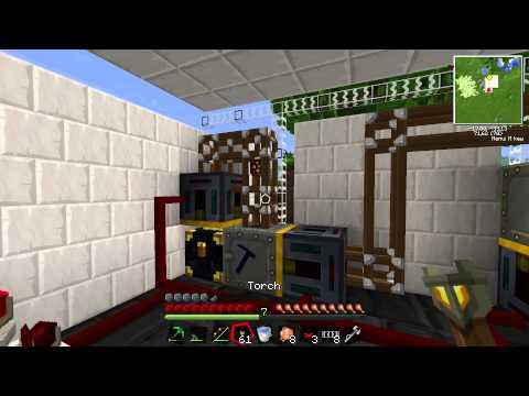 Tekkit med RobinKaja - Episode 28 - Auto ore smelter