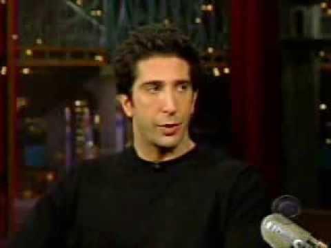 David Schwimmer  Letterman 2002