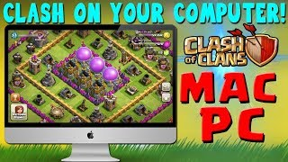 How to play clash of clans in PC/Laptop on a big screen || Latest Update 2018