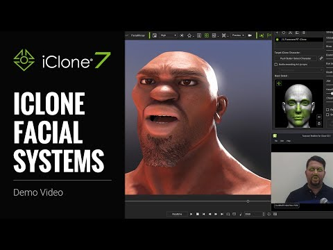 iClone 7 - Facial Mocap & Editing System