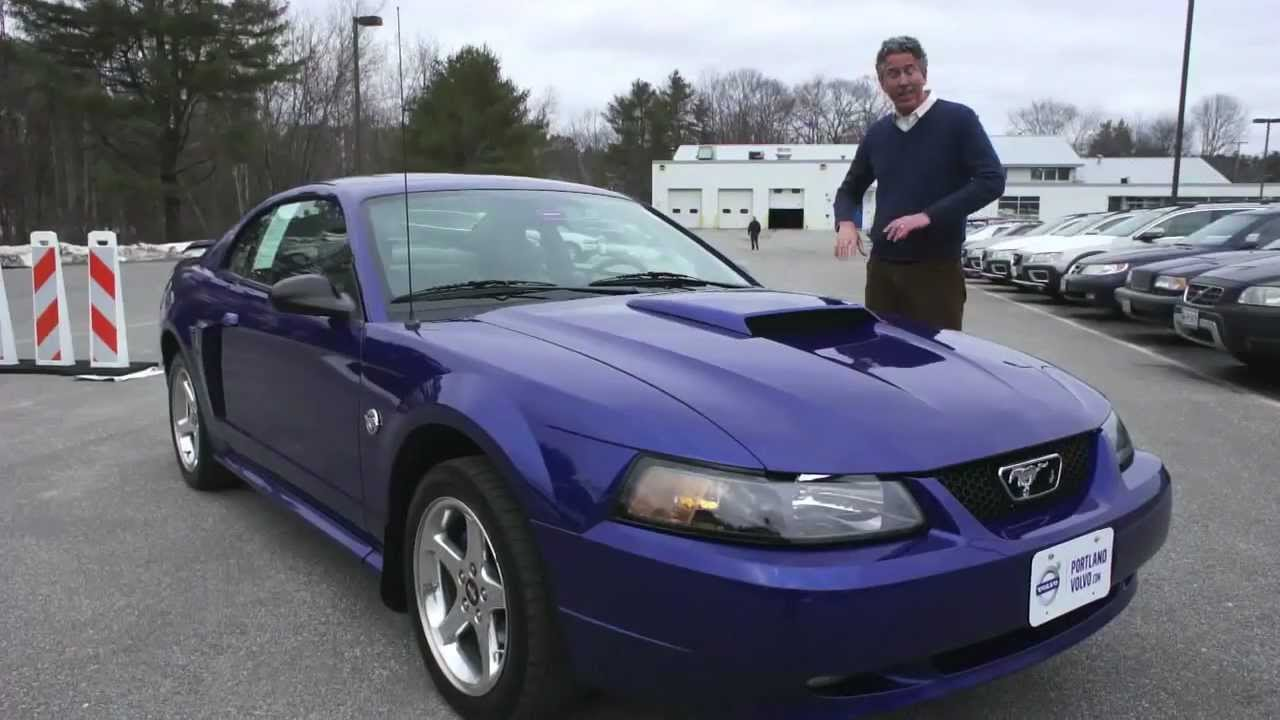 2004 Mustang GT 40th Aniv Edition in Cobalt Blue