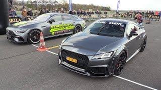 DECATTED Audi TT-RS vs Mercedes-AMG GT63 4Matic+ 4Door