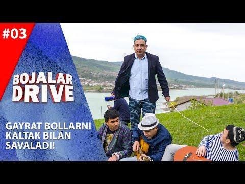Bojalar Drive 3-son GAYRAT BOLLARNI KALTAK BILAN SAVALADI!