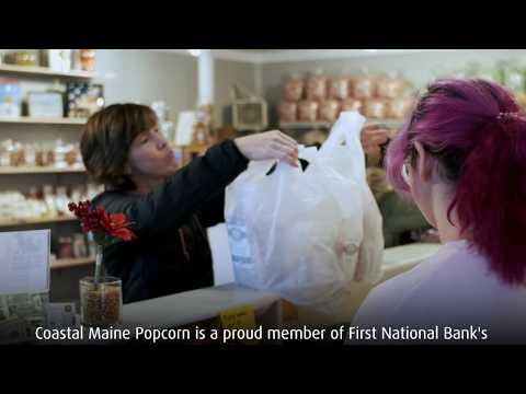 Business Spotlight | Coastal Maine Popcorn | First National Bank
