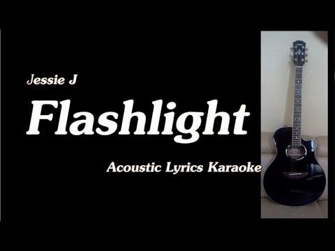 Jessie J - Flashlight - Pitch Perfect 2 (Acoustic Lyrics Backing Track)