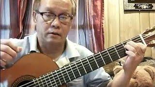 Thuyền Viễn Xứ (Phạm Duy - thơ: Huyền Chi)(BOSTON) - Guitar Cover by Bao Hoang