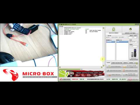 Samsung C270 Read Unlock Codes with Micro Box