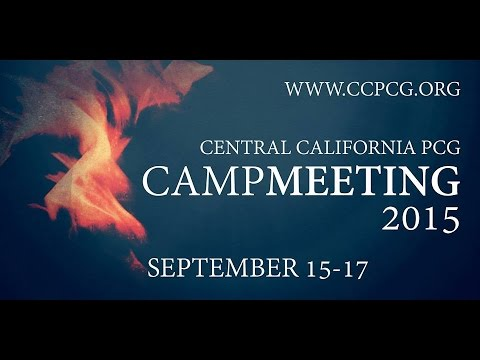 Central California PCG Campmeeting 9/17/2015