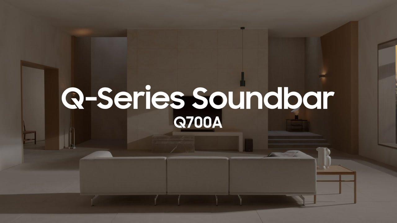 Soundbar - Q700A: Official Introduction | Samsung