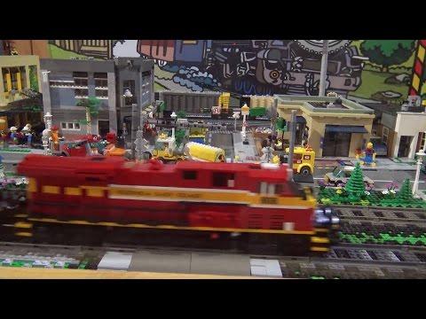 LEGO Train Layout At Gold Coast Railroad Museum (#2)