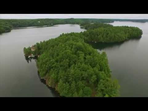 NICOLA MACKAY - Clifton Island, Skeleton Lake