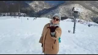 Беременная Полина Гагарина поёт песни Константина Меладзе #РозаХутор