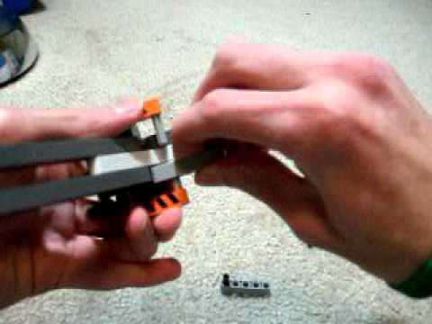 Lego Rubber Band Pistol Instructions Youtube