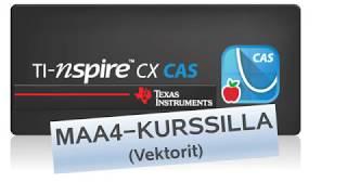 Ti-Nspire CX CAS - vMAA4-kurssilla
