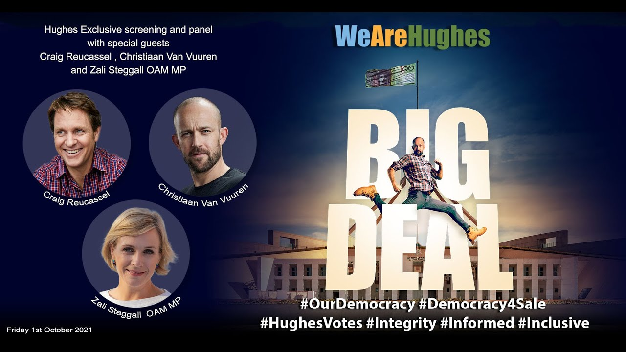 BIG DEAL panel event in Hughes!