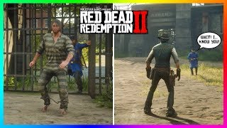 What Happens If John Marston Returns To Prison After Beating Red Dead Redemption 2? (RDR2)