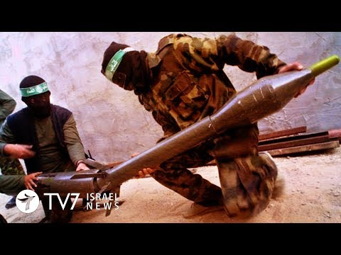 Palestinians launch a rocket toward Israel prompting an IAF response - TV7 Israel News 25.10.18
