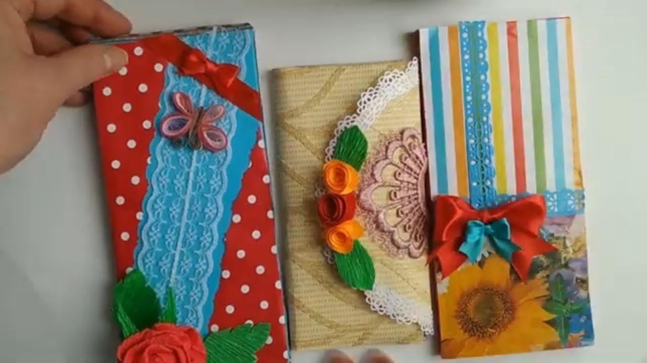 3 идеи на 8 марта супер простые шоколадницы своими руками  Без шаблонов!