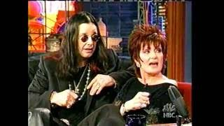 The Osbournes on The Tonight Show with Jay Leno (2002)