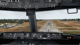 FSX STUNNING GRAPHICS | 737 Landing Broome Australia | Core i7 @ 3.4 GHz