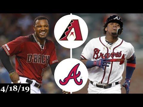 Arizona Diamondbacks vs Atlanta Braves Highlights | April 18, 2019