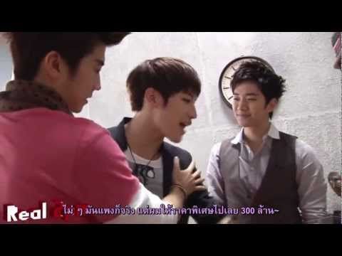 120131 [Real 2PM] Mr. Pizza CF Making Film Part2 [Thai-Sub]