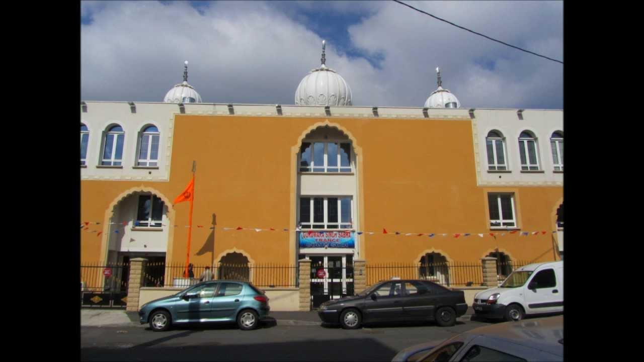 Gurdwara Singh Sabha, Bobigny, France - YouTube