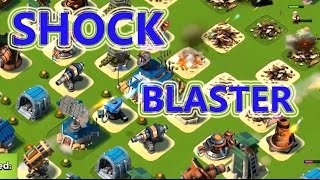 SHOCK BLASTER IN ACTION | Boom Beach | PROTOTYPE DEFENSE