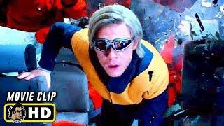 X-MEN: DARK PHOENIX (2019) Clip - Quicksilver Saves Shuttle Crew [HD]