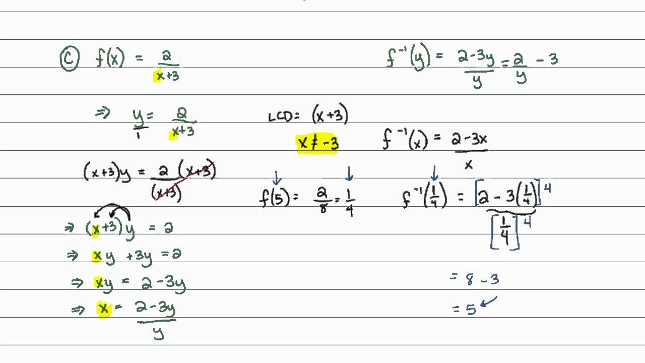 Ninth Grade (Grade 9) Function and Algebra Concepts Questions
