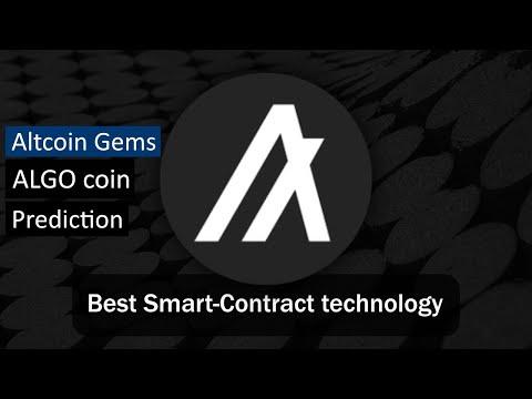 Algorand has the best blockchain technology! | ALGO Altcoin Gem |