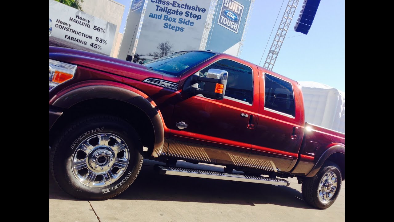 FORD Introduces the 2015 F Series Super Duty Lineup at the State