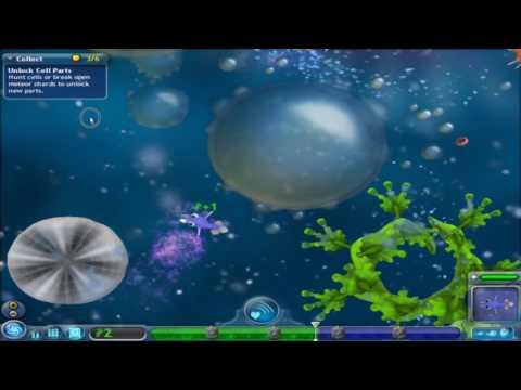 spore 1 cell rampage imovie