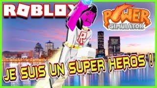 ANOTHER SUPERHERO GAME! Roblox Power Simulator