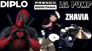 Diplo, French Montana & Lil Pump ft. Zhavia - Welcome To The Party (Deadpool 2) (Drum Remix)