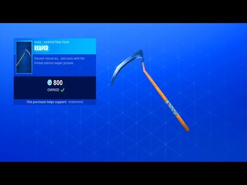 Fortnite Item Shop (October 25) | The REAPER Pickaxe Is Back!
